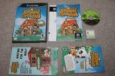 Nintendo Gamecube - Animal Crossing - Complete - Boxed - NTSC / US - VGC