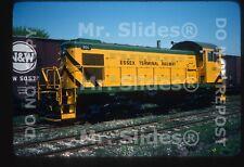 Original Slide Canada: Essex Terminal Fresh Paint ALCO S1 101 Windsor ON 1977