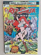 Red Sonja #1, Fabulous First Issue Special, Jan 1977, VFN/NM