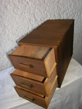 ++ Schubladenschrank Schubladenschränkchen Art Deco Schränkchen 3 Schubladen ++