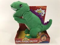 Ryan's World Roaring Green Electronic Animated Dinosaur Gus