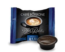 100 CAPSULE COMPATIBILI A MODO MIO CAFFE' BORBONE DON CARLO MISCELA BLU