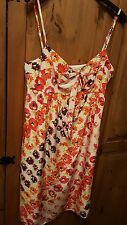 Coast  Begonia silk slip dress Multi-colour flower print New with tags 12 rrp£85