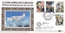 1987 ST John Ambulance-BENHAM BLCS 23 Stansted OFF-firmato Dr John Tanner