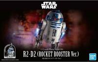Bandai Star Wars R2-D2 Rocket Booster Version Model Kit 1/12 Scale Droid USA