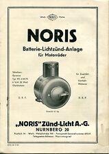 NORIS Zünd-Licht (18), Anleitung DS 6/50/70, D 83 (Origineel)