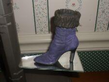 1999 Raine-Just The Right Shoe Figurine-Purple Dream-Good Cond.-No Box/Coa