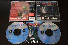 Dracula 2 el último santuario PlayStation One PS1 Buenas Cond Manual incl Reino Unido PAL