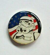 Star Wars U.S.A. Flag Storm Trooper Enamel Pin - New