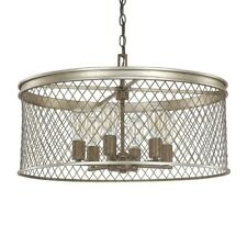 Donny Osmond Home Eastman 6 Light Pendant, Silver and Bronze - 4886SZ