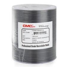 200 JVC Taiyo Yuden CMC Pro 16X White Inkjet Hub Printable Value DVD-R Disc