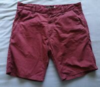 Pool Black Jeans Men's Deep Purple Chino Cannes Shorts Size 46 Used Condition