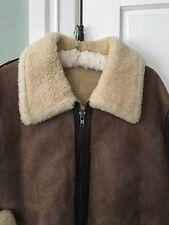 TEXAS TANNING  Shearling  COAT Jacket SIZE 42   NICE