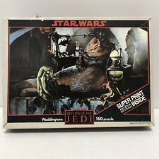 Vintage Star Wars - Return Of The Jedi - Jabba The Hut 150 piece Jigsaw Puzzle