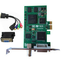 Full 1080p 60hz Video Capture Card With SDI DVI VGA HDMI  Y/Pb/Pr  BMCC DSLR