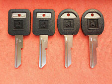 4 PONTIAC OLDSMOBILE OEM KEY BLANKS 68 72 76 80 87 88 89 90