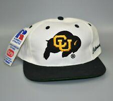 Colorado Buffaloes NCAA Side Script Russell Athletic Vintage Snapback Cap Hat