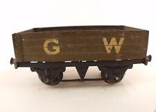 Hornby GB Wagon marchandises GW en O ancien pour restauration