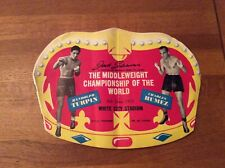 1953 Boxing Programme for the Middleweight Championship of the World