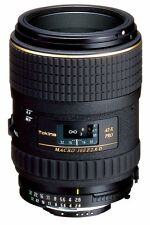 TOKINA 100mm F2.8 AT-X M100 PRO DX MACRO LENS FOR NIKON & SANDISK 32GB SD CARD