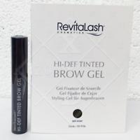 RevitaLash HI-DEF Tinted BROW Gel DARK BROWN 3ml AUTHENTIC * NEW & SEALED Mini