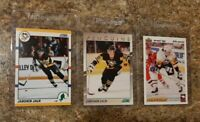 (3) Jaromir Jagr 1990-91 Score 1991-92 Young Superstar Upper Rookie card lot RC