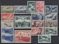 BR141326/ FRANCE – AIRMAIL / LOT 1936 - 1960 MINT MNH CV 213 $