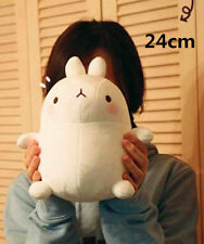 24cm Molang Rabbit White Plush Toy Kids Girls Birthday Gift Korean Rabbit Doll
