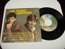 "THE EVERLY BROTHERS ""ALL I HAVE TO DO IS DREAM"" 7"" 45 EP PS MEXICAN PRESS 1950'S"