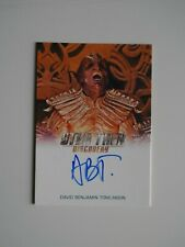 STAR TREK DISCOVERY Autograph Card David Benjamin Tomlinson as Or'Eq