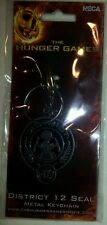 The Hunger Games District 12 Seal Metal Keychain - NEW