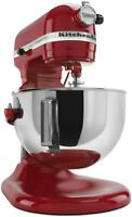 NEW! KitchenAid Professional 5 Plus Series 5Qt Stand Mixer - Empire Red