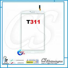 VETRO TOUCH SCREEN BIANCO per SAMSUNG GALAXY TAB 3 SM-T311 3G 8.0