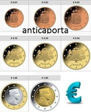 Serie Lettland 2014 in BLISTER 8 Münzen EURO Sammlung Vollständige