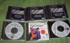 COMPUTER HOW-TO CD ROM SET SOFTWARE HARDWARE INTERNET