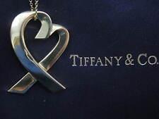 Tiffany & Co 18kt Paloma Piscaso Amante Corazones Oro Amarillo Colgante Collar