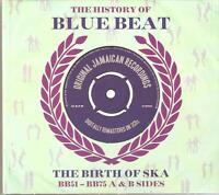 THE HISTORY OF BLUE BEAT THE BIRTH OF SKA BB51-BB75 A & B SIDES - 3 CD BOX SET