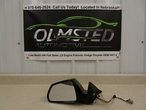 2009 2015 Cadillac CTS-V CTS Driver Side Mirror OEM GM Black Diamond LH Used