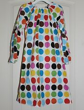 Girls Lolly Wolly Doodle Boutique Polka Dot Long Sleeve Fall Dress LWD size 7
