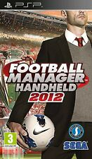 Football Manager Handheld 2012 PSP UMD PlayStation Video Game UK Release