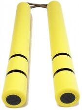 New Nunchaku Bruce Lee Yellow Rubber microfiber cloth includedFRM Japan F/S J787