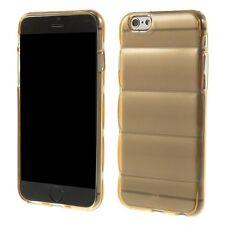 housse etui gel silicone per Iphone 6 4.7 bronze transparent slim tpu