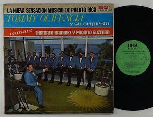 """Tommy Olivencia Y Su Orq. """"La Nueva Sensacion..."""" Latin Salsa Guaguanco LP Inca"""