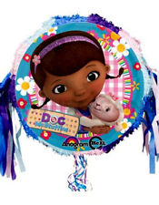 Disney Doc McStuffins Pinata Birthday Party 18″ Drum Pull String Pinyata Game