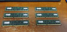Kingston KTH-PL313Q8LVK3/48G 16GBx1 4Rx8 PC3L-10600R ( Lot of 6, 96GB Total )
