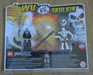 Lego® Ninjago™ Limited Edition Minifigur Wu vs Skulkin im Blister Neu & OVP 2020