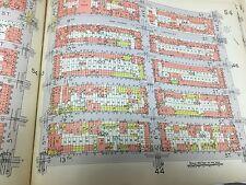 1929 PARK SLOPE GOWANUS P.S. 142 PROSPECT THEATRE BROOKLYN NY ATLAS MAP