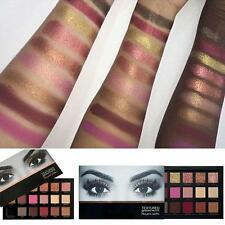 18 Colors Eyeshadow Textured Pallete Faced Matte Make up Eye shadow Palette