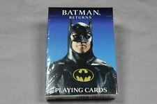 Vintage Batman Returns Playing Cards 1992 SEALED