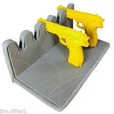 Pistol Handgun Rack 5 Guns Storage Solution Gun Safe Vault Hand Made Space Saver